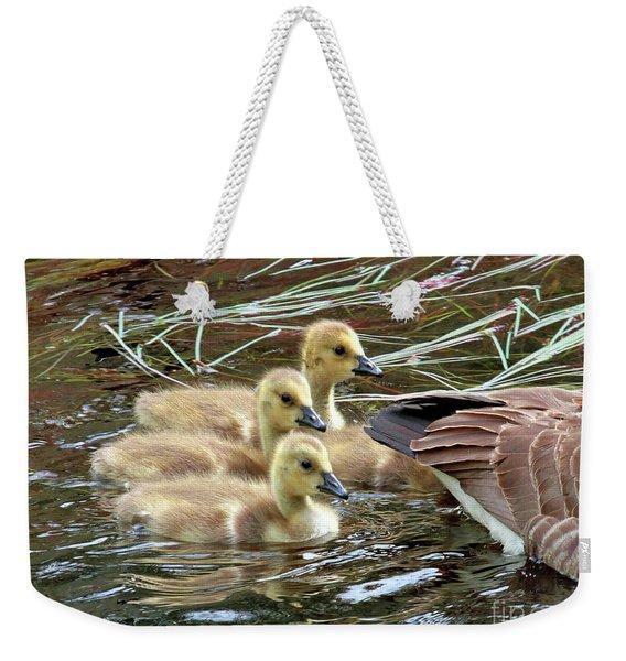 Following Mom's Lead Weekender Tote Bag