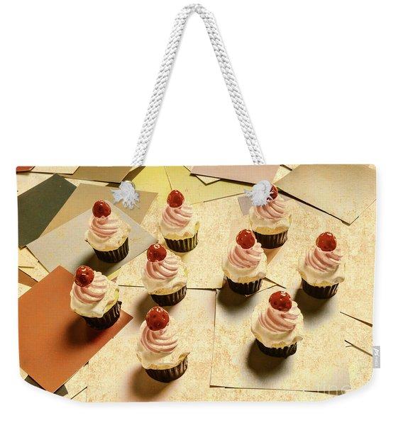 Foodie Nostalgia Weekender Tote Bag