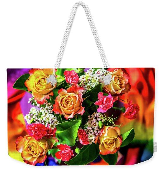 For Giving Love Weekender Tote Bag
