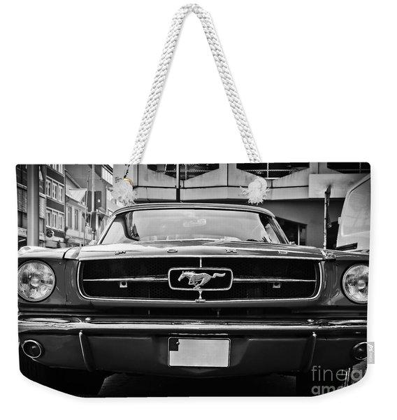 Ford Mustang Vintage 1 Weekender Tote Bag
