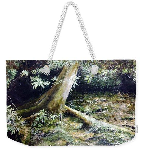 Forest Edge Weekender Tote Bag