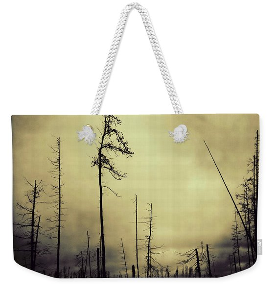 Forest Fire Weekender Tote Bag