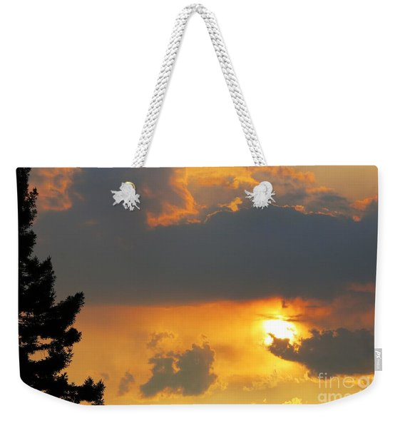 Forest Grove Solar Storm Weekender Tote Bag