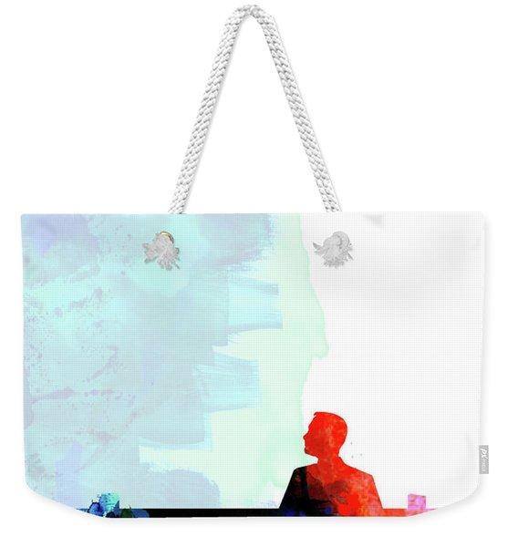 Forest Gump Watercolor II Weekender Tote Bag