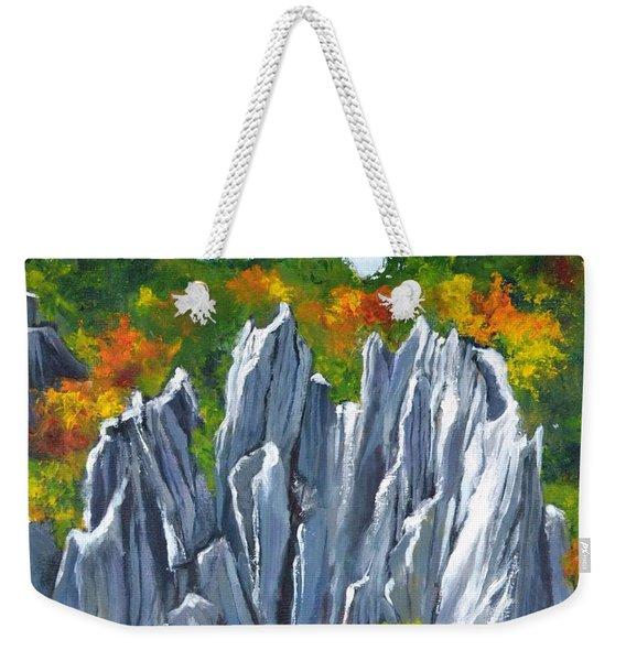 Forest Of Stones Weekender Tote Bag
