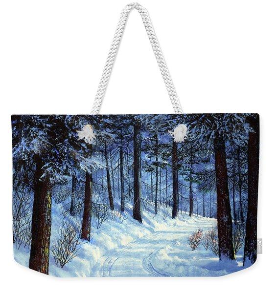 Forest Road Weekender Tote Bag