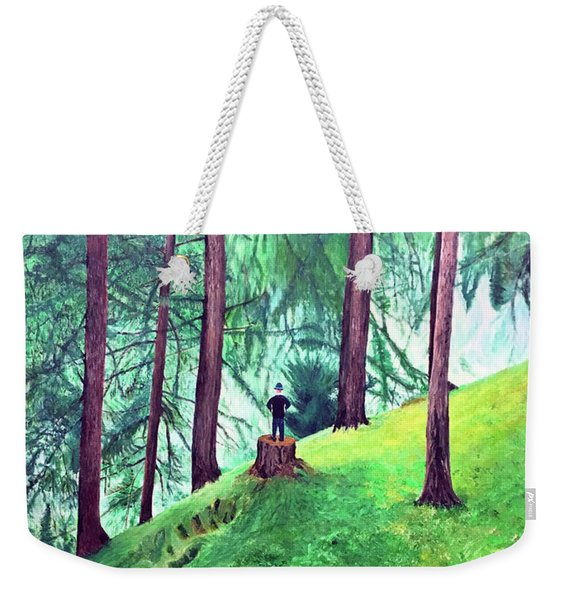 Forest Through The Trees Weekender Tote Bag