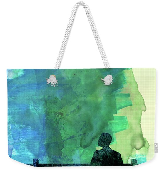 Forest Watercolor I Weekender Tote Bag