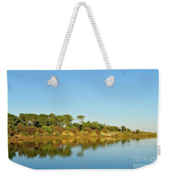 Forests Mirror Weekender Tote Bag