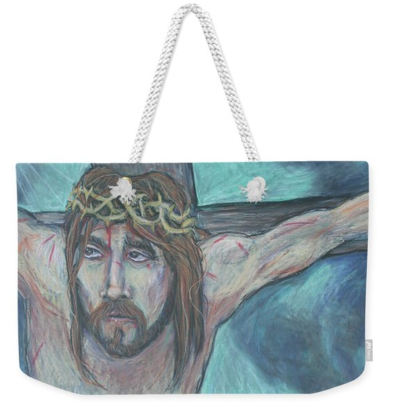 Forgive Them Father  Weekender Tote Bag