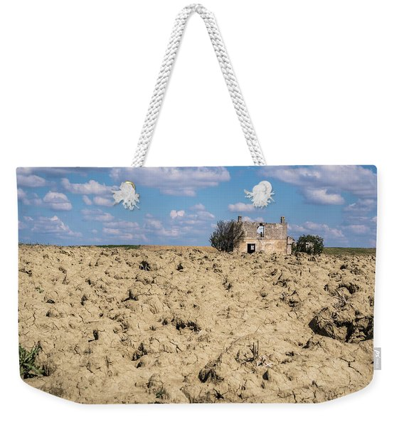 Weekender Tote Bag featuring the photograph Forgotten  by Robin Zygelman