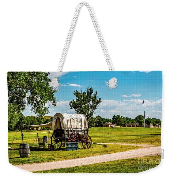 Fort Laramie Weekender Tote Bag