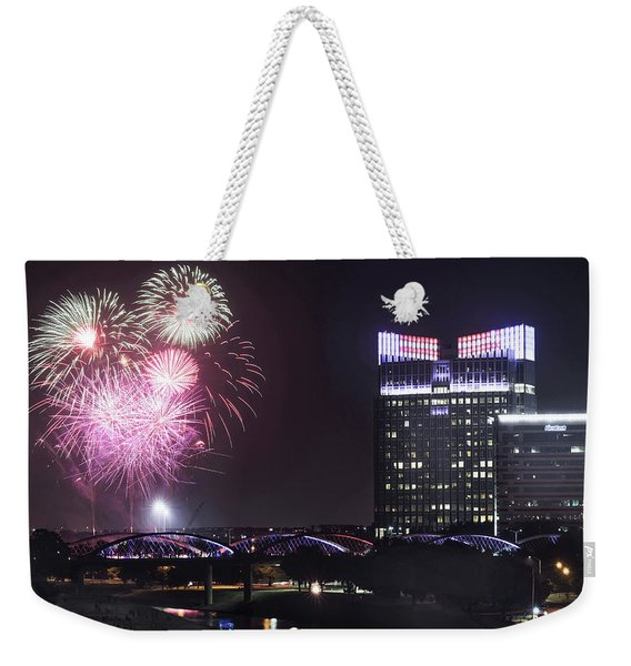 Fort Worth Fourth 070719 Weekender Tote Bag