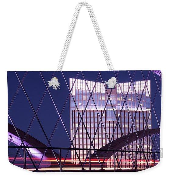 Fort Worth West Seventh Street Bridge V2 021419 Weekender Tote Bag