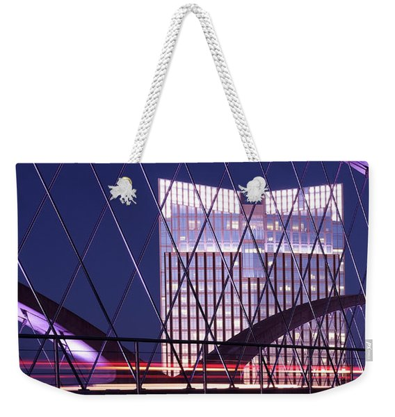 Fort Worth West Seventh Street Bridge V2 021419 Weekender Tote Bag