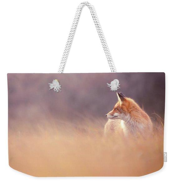 Fox Focus Weekender Tote Bag