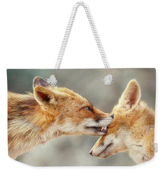 Fox Love Series - That's My Eye Weekender Tote Bag