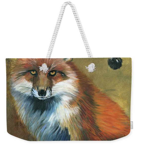 Fox Shows The Way Weekender Tote Bag