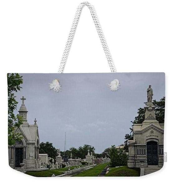 Framed In The Cemetery Weekender Tote Bag