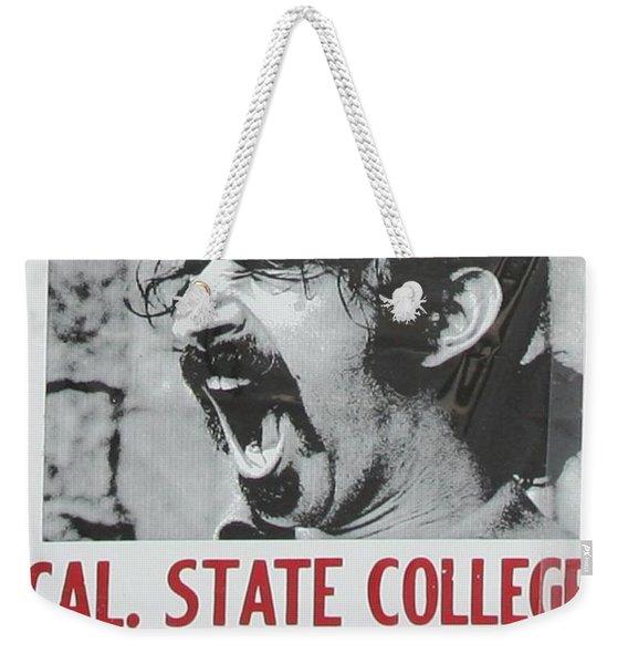Frank Zappa Alice Cooper 1972 Poster Weekender Tote Bag