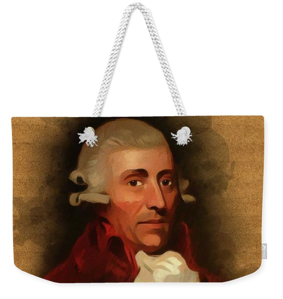 Franz Joseph Haydn, Music Legend Weekender Tote Bag