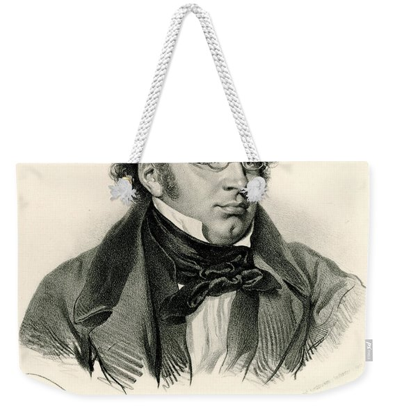 Franz Peter Schubert, Phototype Weekender Tote Bag