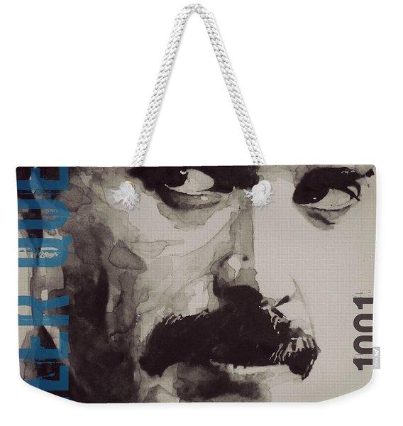Freddie Mercury - Retro - Tee Shirt  Weekender Tote Bag