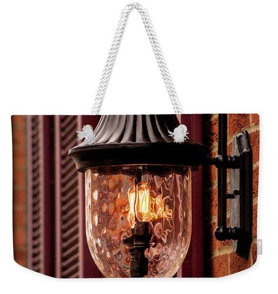 Frederick Lamp Weekender Tote Bag