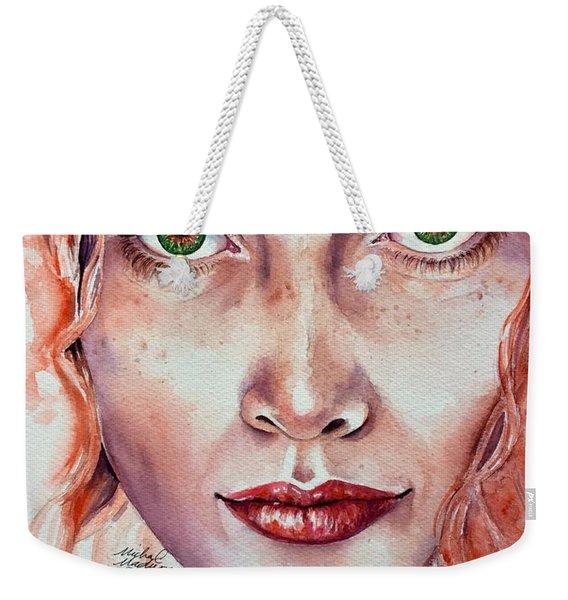 Freedom And Uncertainty Weekender Tote Bag