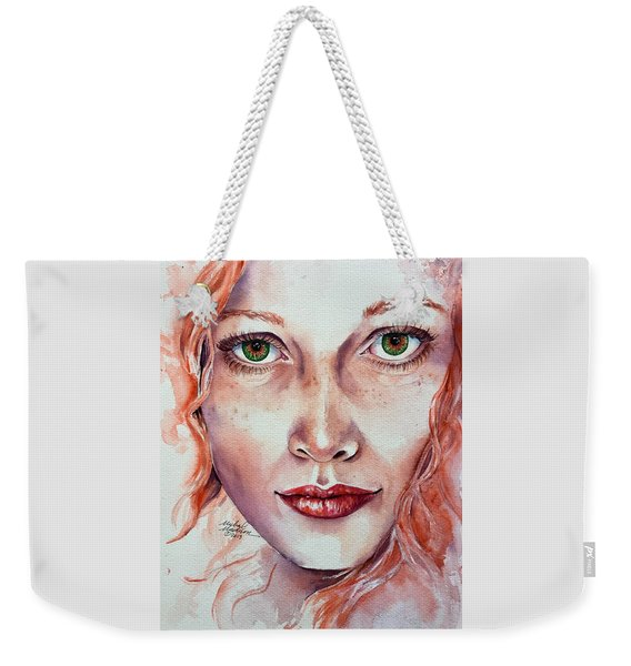 Freedom And Uncertainty Weekender Tote Bag