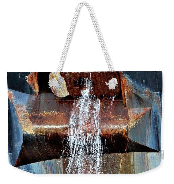 Freighter Anchor Chock Weekender Tote Bag