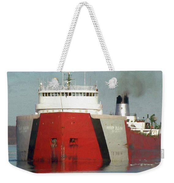 Freighter Roger Blough Weekender Tote Bag