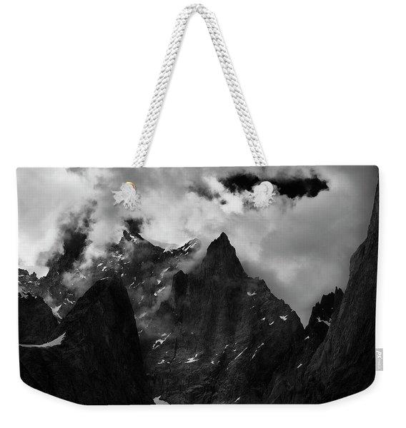 French Alps Region Weekender Tote Bag