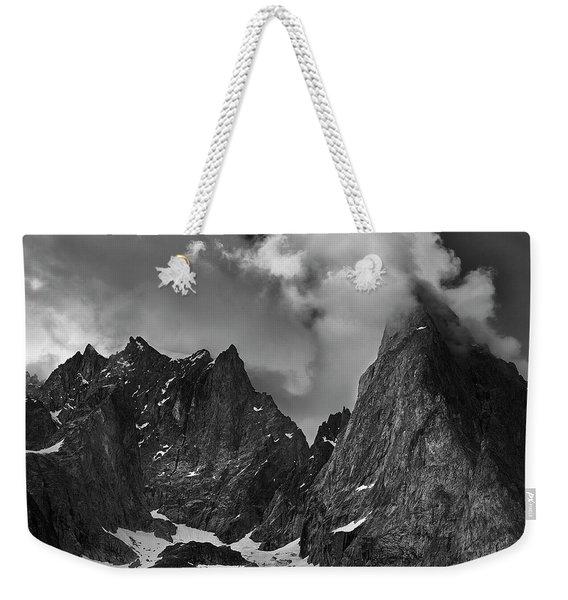 French Alps Spires Weekender Tote Bag