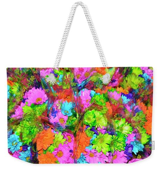French Floral  Weekender Tote Bag