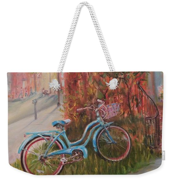 Frequent Flyer Weekender Tote Bag