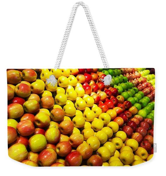 Fresh Apples Weekender Tote Bag