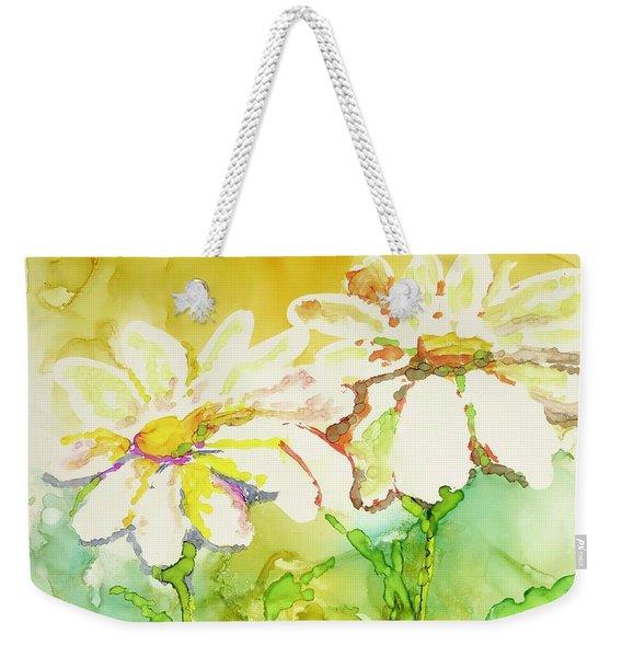 Fresh As Daisies Weekender Tote Bag