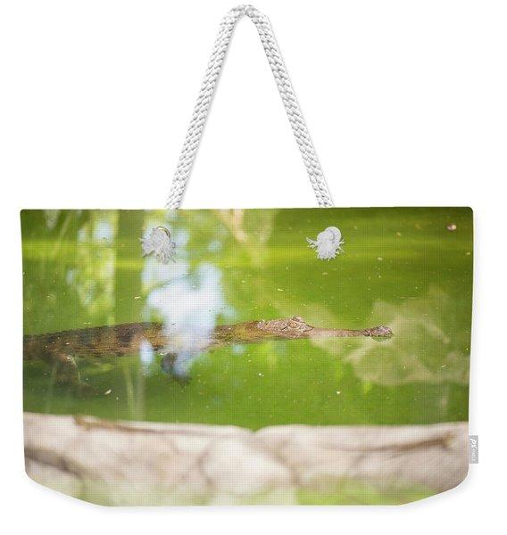 Freshwater Crocodile Weekender Tote Bag