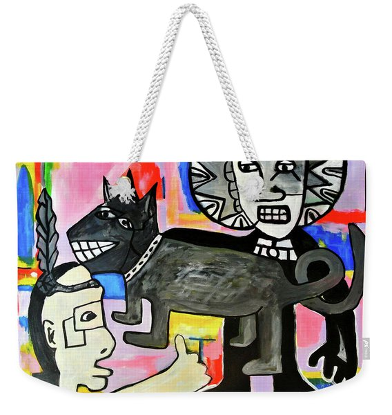 Friends You And I  Weekender Tote Bag