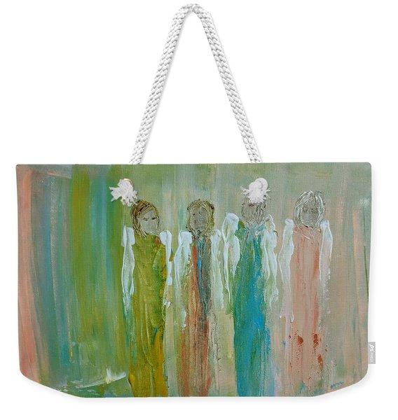 Friendship Angels Weekender Tote Bag