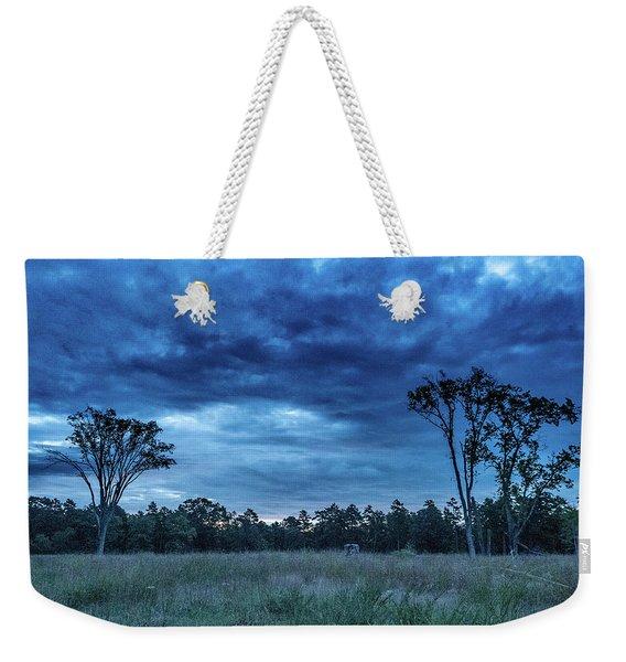 Friendship Blue Hour Sunrise Weekender Tote Bag