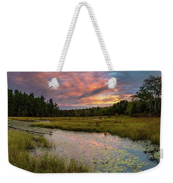 Friendship Panorama  Sunrise Landscape Weekender Tote Bag