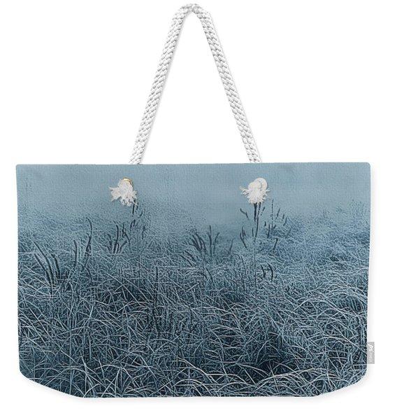 Frigid Morn Weekender Tote Bag