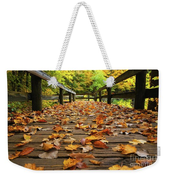 From A Golden Perspective Weekender Tote Bag