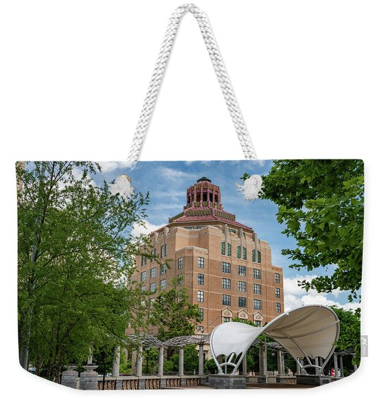 From The Plaza Weekender Tote Bag