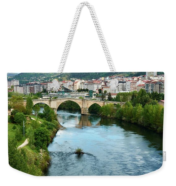 From The Top Of The Millennium Bridge Weekender Tote Bag