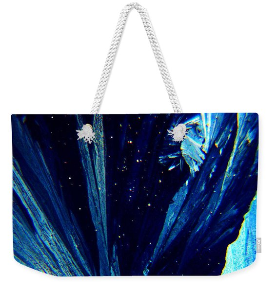Frozen Night Weekender Tote Bag