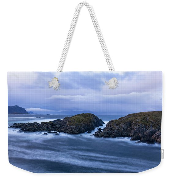 Frozen Water Movement Weekender Tote Bag