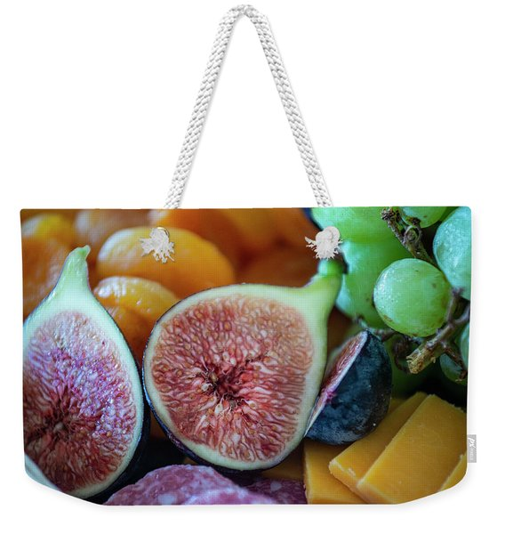 Fruit Plate Weekender Tote Bag